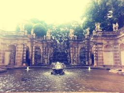 The grand fountain